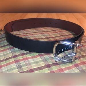 torrid Accessories - Torrid Faux Leather Silver Buckle Belt Size 2